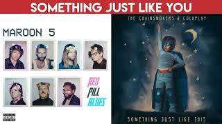 Girls Like You Vs. Something Just Like This (MASHUP) Maroon 5, Cardi B, Chainsmokers, Coldplay