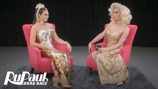 The Pit Stop: Season 3 Episode 1: 'Manila Luzon Spills the Tea' | RuPaul's Drag Race All Stars 3