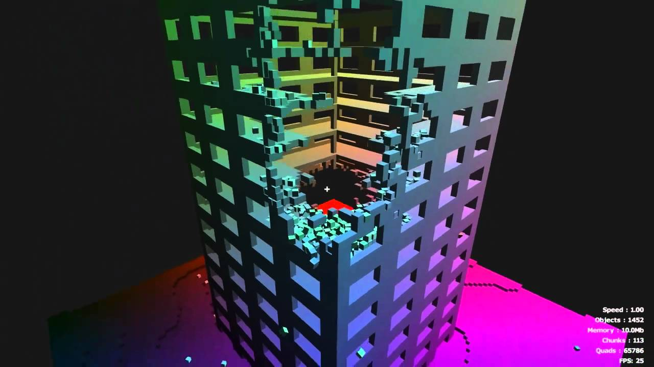 Minecraft Would Look So Much Better With Physics Like This