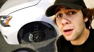 WE GOT INTO A CAR ACCIDENT!! (POLICE CAME)