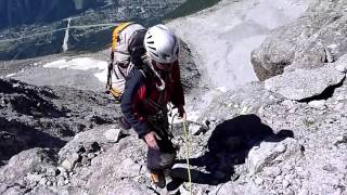 Climbing the Frendo Spur (part 1 of 2)