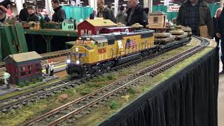 Amherst 2019 Railroad Hobby Show!!