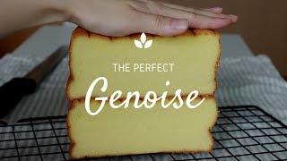 [Eng Sub] 실패없는 완벽한 공립법 제누와즈 레시피 The perfect sponge cake (Genoise)│자도르