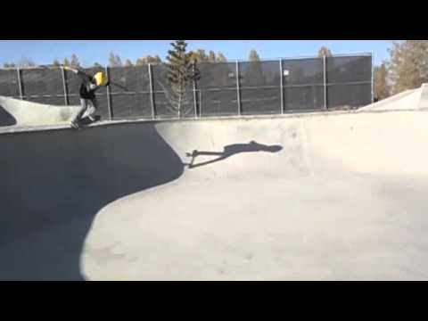 sean miller shreding ridgway skatepark