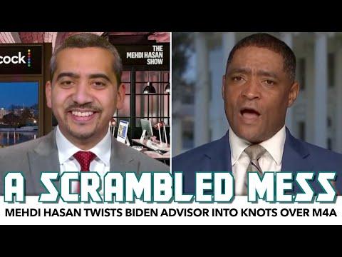 Mehdi Hasan Twists Biden Advisor Into Knots Over Medicare-For-All