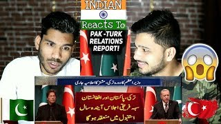 Indians Reaction On Pakistan - Turkey Friendship   What Imran Khan Turkey Visit Tells Us - M Bros