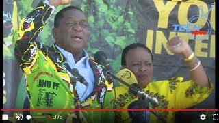 Mnangagwa Recieves Loud Ovation In Bulawayo ZanuPf Youth Rally