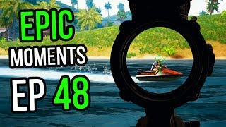 PUBG: Epic & Lucky Moments 48