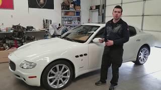 Maserati Quattroporte engine knock part 2