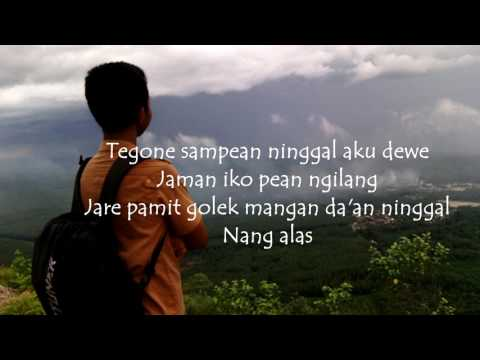 Alan walker   fade javanese version sepine lyric