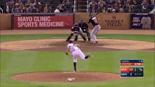Giancarlo Stanton hit the fastest ball ever recorded on Statcast in MLB