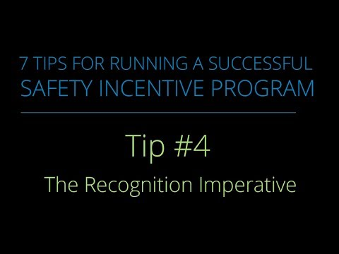 Tip #4 – The Recognition Imperative