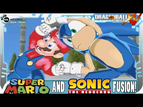Download Fusion Sonic And Mario VS Fusion Goku And Piccolo - Dragon Ball Xenoverse Mod HD Mp4 3GP Video and MP3