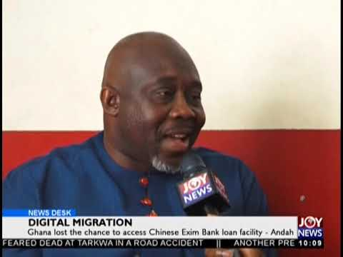 Ghana Lost The Chance To Access Chinese Exim Bank Loan Facility - News Desk on JoyNews (18-9-18)