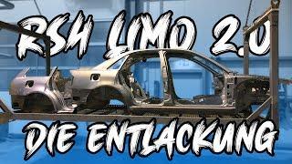 Die RS4 Limo 2.0 - Die Entlackung und Entrostung! Was kommt jetzt alles in Carbon? | Philipp Kaess |