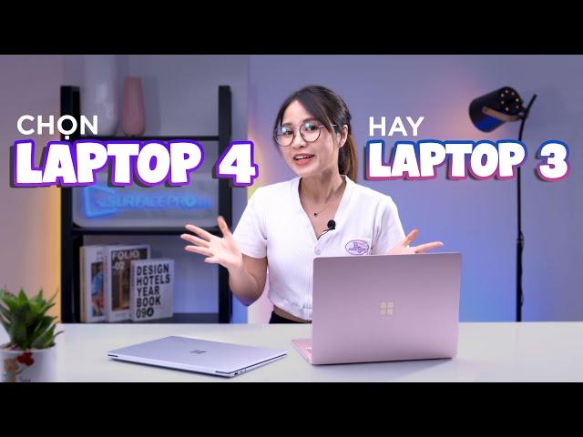 Surface Laptop 4 có gì khác so với Surface Laptop 3?