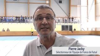 Interview de Pierre Jacky - Challenge Interligues U15 & U18 Futsal