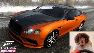 Forza Horizon 4 With Funny Driver - Bentley Continental SuperSports 2017