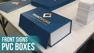 Front Signs PVC Boxes