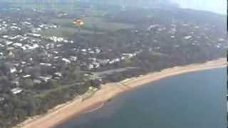 preview picture of video 'Powered parachute flying near cowes philip island.Victoria Australia'