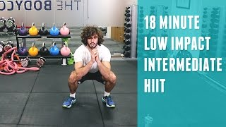 18 Minute Low Impact Intermediate HIIT | The Body Coach by The Body Coach TV