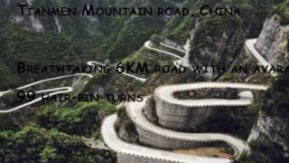 Most dangerous roads you would never want to drive on
