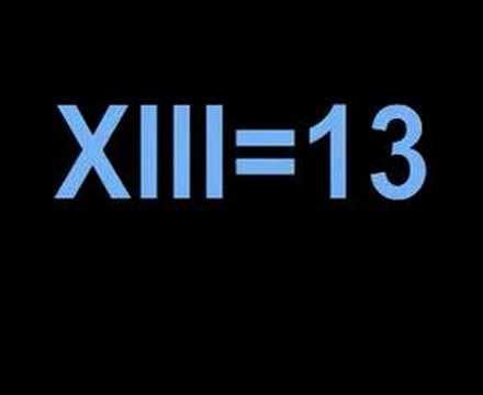 Vixxviiixiii Roman Numeral