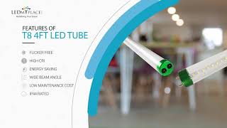 T8 4ft LED Integrated Tube Light