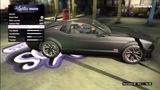 GTA 5: FULLY CUSTOMIZED Ford Mustang (Vapid Domination) Los Santos Customs + Gameplay