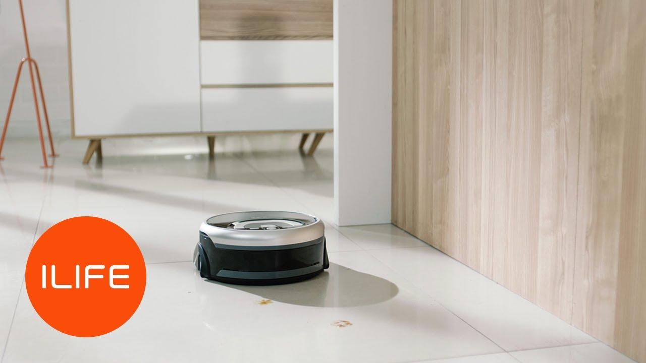 Robot Lau Sàn Thông Minh Ilife W400