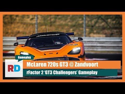 rFactor 2 - McLaren 720S GT3 - Holiday competition Zandvoort