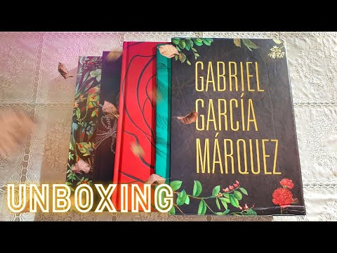 Unboxing | Box Gabriel García Márquez
