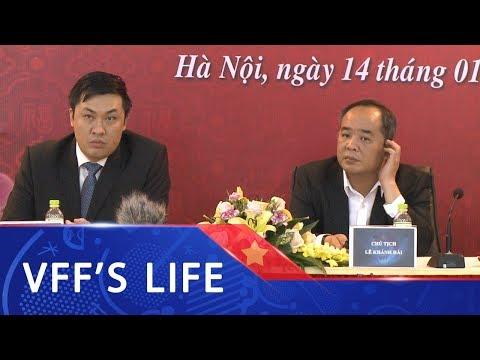 Lãnh đạo VFF, VPF gặp gỡ thân mật đầu năm với các cơ quan truyền thông báo chí