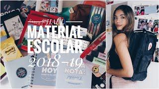#HAUL MATERIAL ESCOLAR 2018/2019 | Back To School | @CLAKOVI