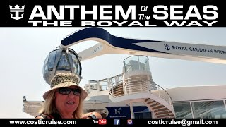 ANTHEM Of The SEAS at SEA