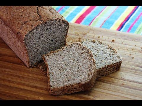 Pan integral Sin Gluten, Sin levadura y Vegano - Reverde