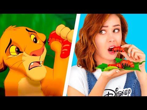 9 DIY Disney Essen vs Pixar Essen / Wir Machen Das Beste Essen Aus Filmen Nach