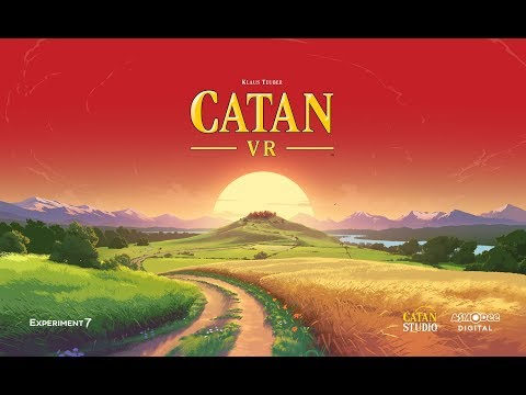 Catan VR  Beta Announcement Trailer for Oculus Rift and Gear VR