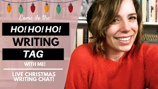 Ho! Ho! Ho! Writing Tag | Christmas Chat