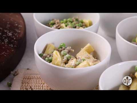 How to Make Pasta with Peas and Sausage   Dinner Recipes   Allrecipes.com
