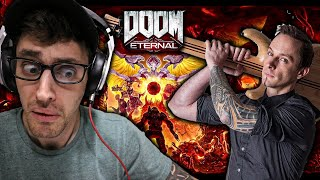 """Doom Eternal OST - """"The Only Thing they Fear is You"""" (Mick Gordon) REACTION"""