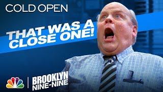 Cold Open: Hitchcock Nearly Drowns - Brooklyn Nine-Nine