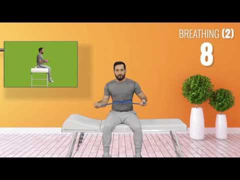 Deep breathing exercises for Ankylosing Spondylitis