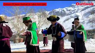 Colours Of Snow Festival In Lahul And Spiti