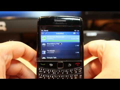 WhatsApp Messenger Install To Blackberry Bold 9780 Mp3
