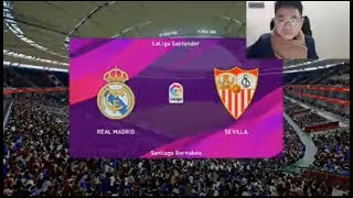Real Madrid vs Sevilla | Pes 2020 Gameplay