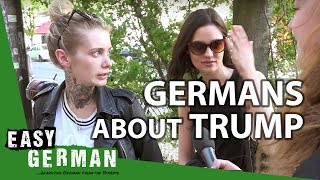 What Germans say about Donald Trump | Easy German 143 - dooclip.me