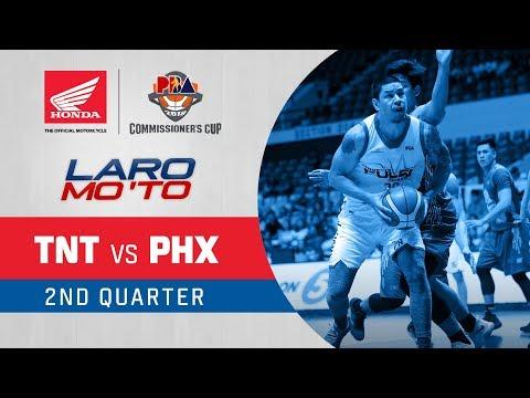 TNT vs. Phoenix – Q2 | PBA Commissioner's Cup 2018