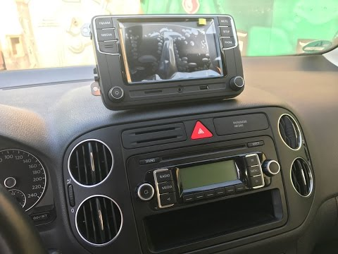 How to install RCD330G Plus on VW Golf Plus / Tiguan