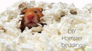 DIY Hamster bedding!